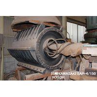"RECONDITIONED AND REPAINTED ""KAWASAKI"" IMPACT CRUSEHR MODEL SAP-4/150 ROTOR thumbnail image"