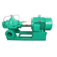 Axial opening double suction centrifugal pump
