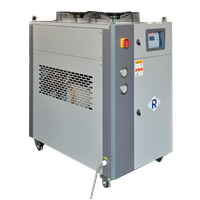 Air-Cooled Industrial Chiller with Top Side of Fans (air cooled scroll air chiller)