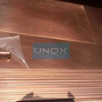Copper Plating Stainless Steel Sheet - Red Copper Alloys Finish