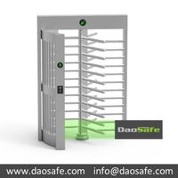 Crowd Control Full-Height Turnstiles Solution DS401