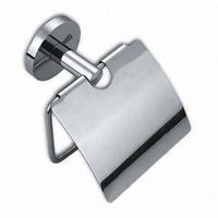 Stainless Steel Toilet Paper Holder with Precision Casting Base thumbnail image