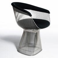 living room furniture warren platner lounge chair thumbnail image