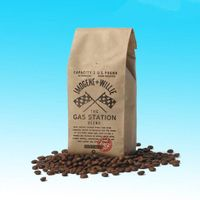 Stand up Kraft Paper Bag Packaging Coffee and Suger Bag
