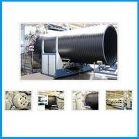 HDPE Large Caliber Hollow Wall Winding Pipe Production Line