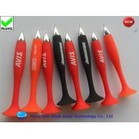 silicone suction cup ballpoint pen