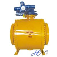 Big Size Electric Operated Forged Steel Trunnion Ball Valve thumbnail image