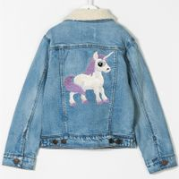 Girl's denim jackets