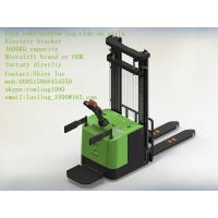 fork-over/narrow-leg Electric Stacker,1600KG capacity, Microlift brand or OEM, factory direclty, thumbnail image