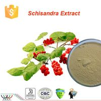 free sample 100% natural high quality 1%~9% schisandra extract