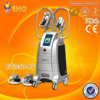 ETG50-4S home cryolipolysis slimming system  for 4 work handles machine