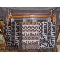 Alpaca and sheep wool blanket