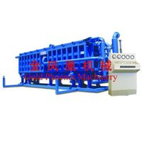 EPS height-adjustable block molding machine