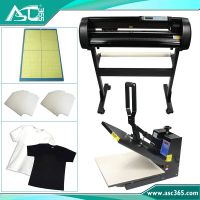 "24"" Cutter Plotter T-shirt Heat Transfer Press Printing"