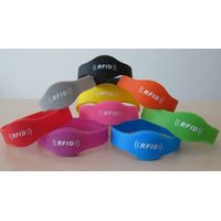 High Quality Waterproof Silicon RFID Bracelet/Wristband thumbnail image