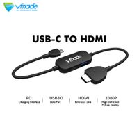 Various styles USB-C to HDMI Convert line Game dedicated Type-C current lead electric wire