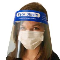 Safety Face Shield With Clear Flip-Up thumbnail image
