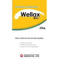 Korean supplementary feed Wellax with Active ingredients: GABA, betaine, gentian, mellissa