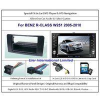 BENZ R-CLASS W251 2005-2010 Car DVD Player GPS Navi / Original Factory  Panel / Camera / Map Card