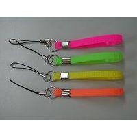 silicone mobile strap