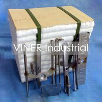 Insulation Ceramic Fiber Module with SS Anchor Fixings System