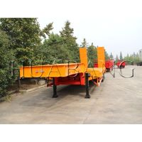 China made low bed semi trailer   heavy duty semi low bed trailer   50 ton low bed trailer   equipme