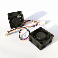 12v dc 40mm pwm speed control 40mmx40mmx20mm axial cooling fan thumbnail image
