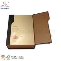 Guangzhou Double Door Cardboard Magnetic Closure Gift Box for Wine thumbnail image