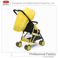 Luxury Aluminum Alloy Infant Foldable Lightweight Travel Baby Pram 3 in 1 Baby Stroller thumbnail image