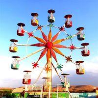 20m high Flower Basket Theme Rark Rides Ferris Wheel thumbnail image