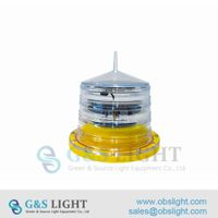 Low intensity Solar Powered Obstruction Light thumbnail image