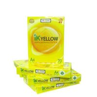 IK Yellow A4 Copy Paper 70gsm/75gsm/80gsm
