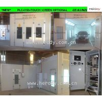 Herody Spray Booth (PLC+VFD+Touch screen)