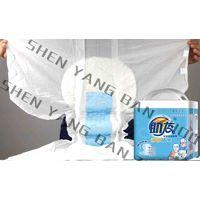 3D-leak prevention adult diaper