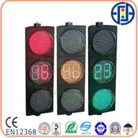 12inch Traffic Light Yellow one with red and green countdown timer