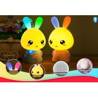 Kids educational toys Bluetooth speakers with LED light
