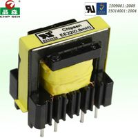 High frequency EE Ferrite core lectronics transformer