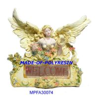 polystone sitting fairy, resin fairy thumbnail image