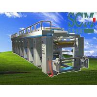 common plastic film paper rotogravure printing machine