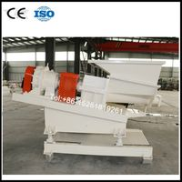 Conical twin screw force feeder for big batch materials thumbnail image
