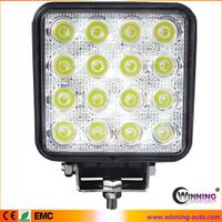 new arrival 48w IP67 square led work light with EMC function