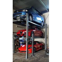 3 Cars Four Post Parking Lift for Home/Garage Parking