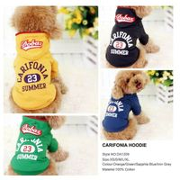 2015 new fall/winter 100% cotton dog clothes dog jumpsuit wholesale