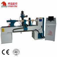 cnc wood lathe machine from cosen cnc
