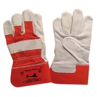 Red Cuff Single Palm Glove