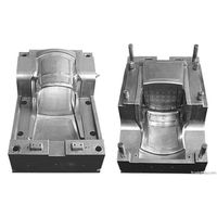PP Injection Gas Assistedchair Mould/Plastic Chair Mold