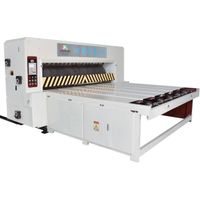 Rotary die cutting machine for corrugated box thumbnail image