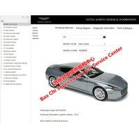 Aston Martin Rapide Vanquish V8 V12 Vantage Workshop Manual Wiring Diagram thumbnail image