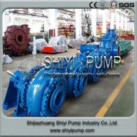 Coarse Tailling Water Treatment Handling Gravel Centrifugal Slurry Pump