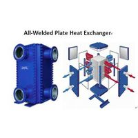 All-welded plate heat exchanger